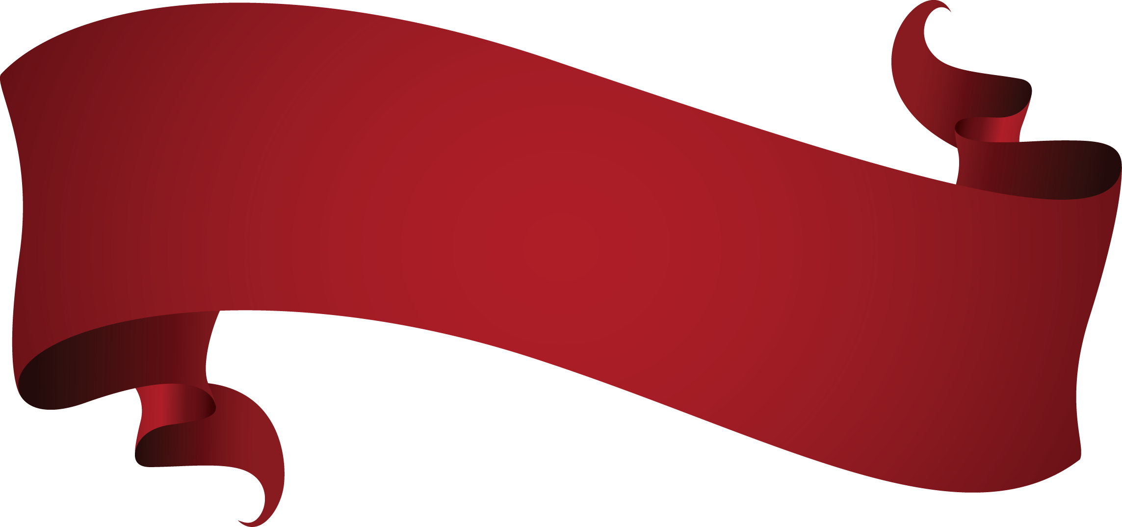 Wine Red Euclidean vector Ribbon.