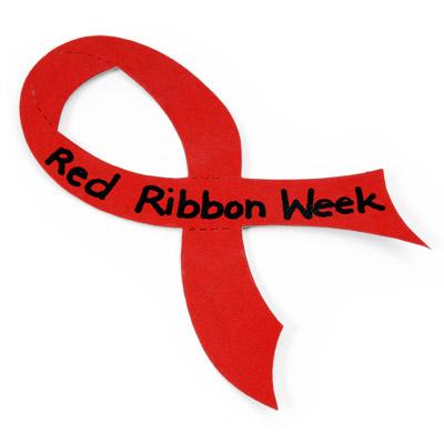 Red Ribbon Week Begins Monday.