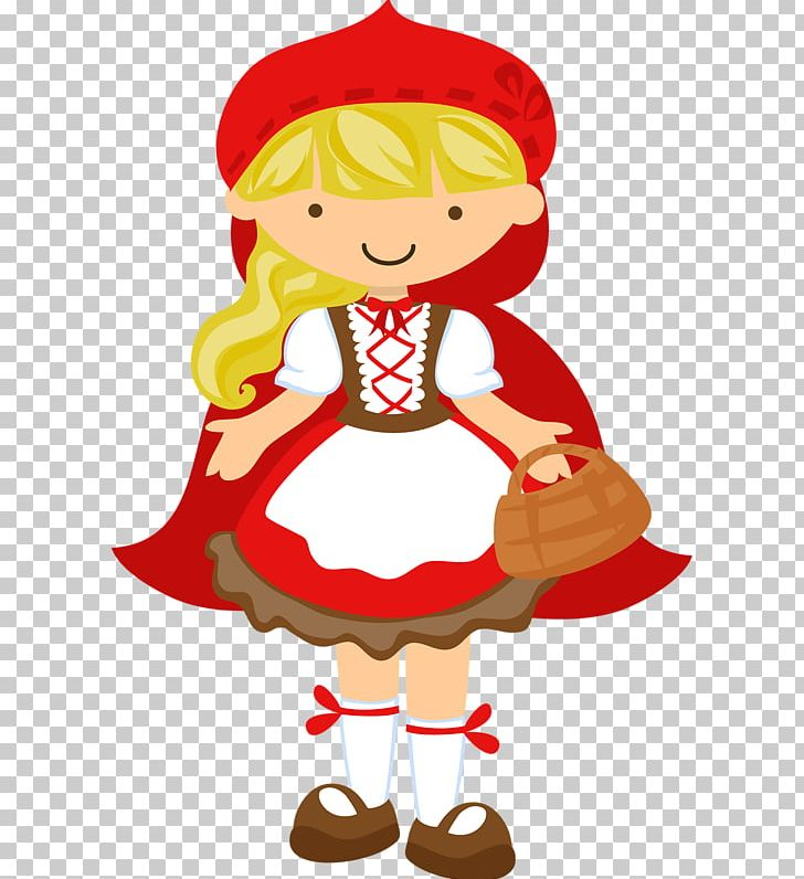 Little Red Riding Hood Frames Convite Book Party PNG.