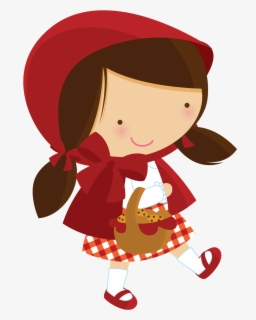 Free Little Red Riding Hood Clip Art with No Background.