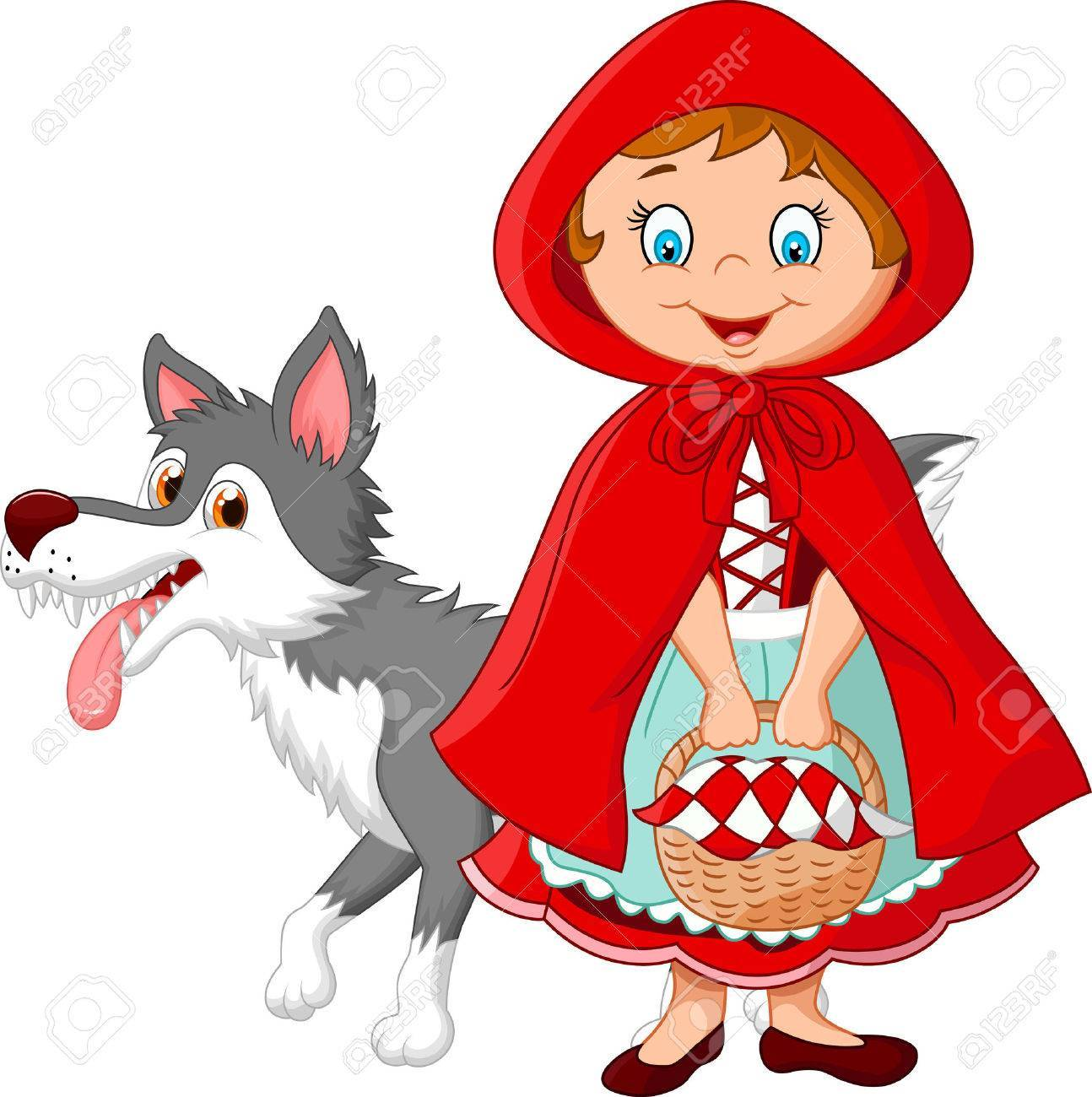 Little red riding hood clipart 7 » Clipart Portal.