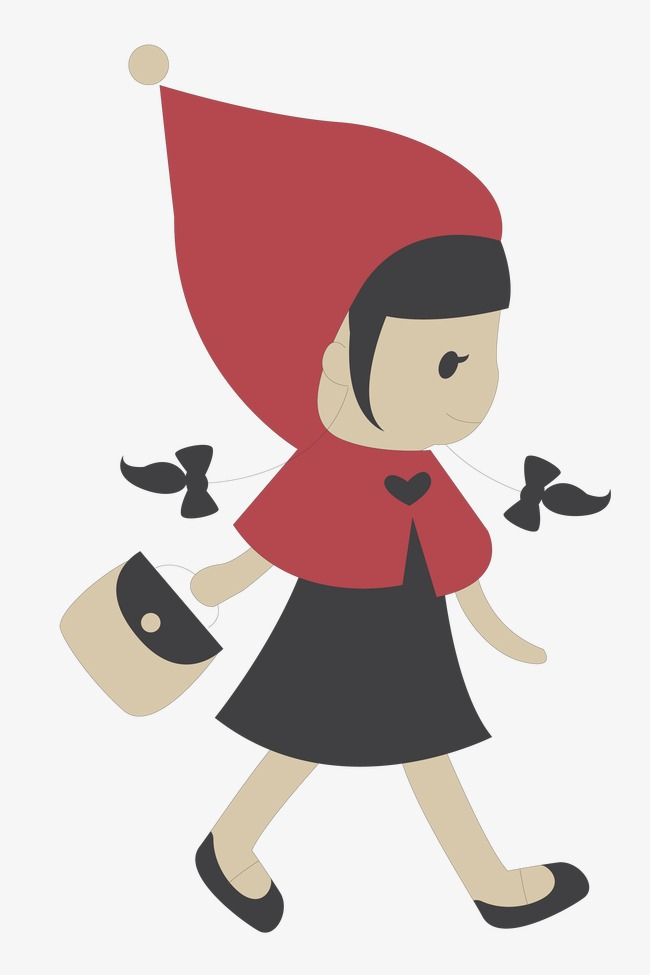 Little Red Riding Hood Png & Free Little Red Riding Hood.png.