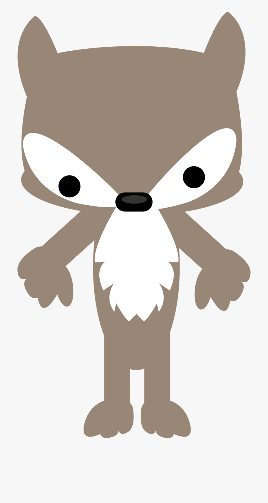 Little Red Riding Hood Wolf Clipart.