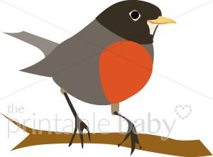 Red Robin Clip Art Free.