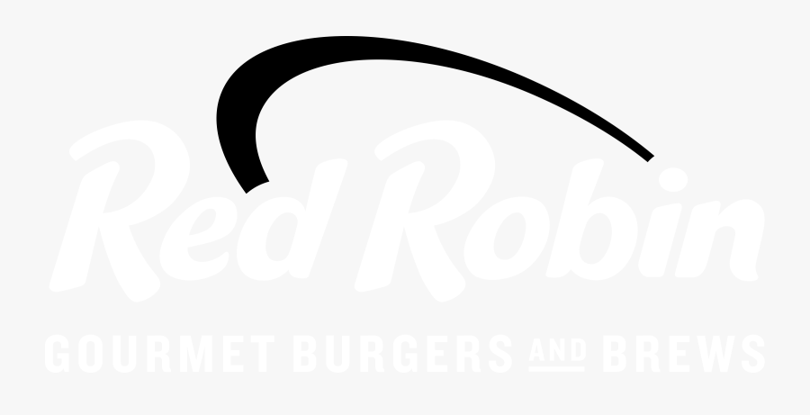 Red Robin Logo Black And White Clipart , Png Download , Free.