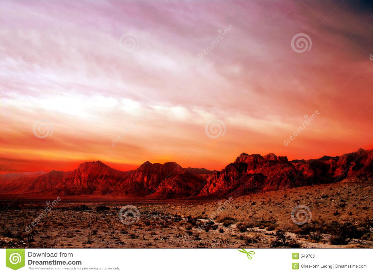 Red Rock Canyon, Nevada Stock Photos.