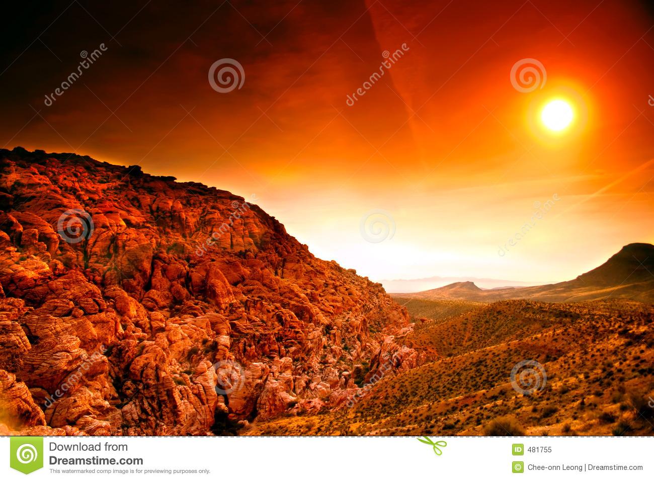 Red Rock Canyon, Nevada Royalty Free Stock Photo.
