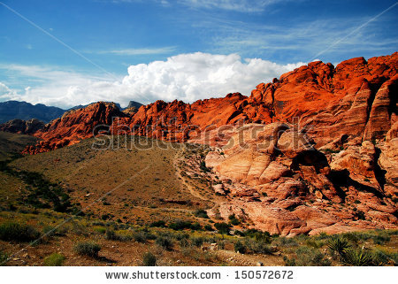 Red Rock Canyon Stock Images, Royalty.
