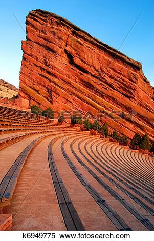 Stock Image of Amphitheater at Red Rocks Park k6949775.