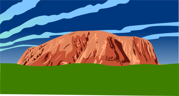Red Rock Clipart.