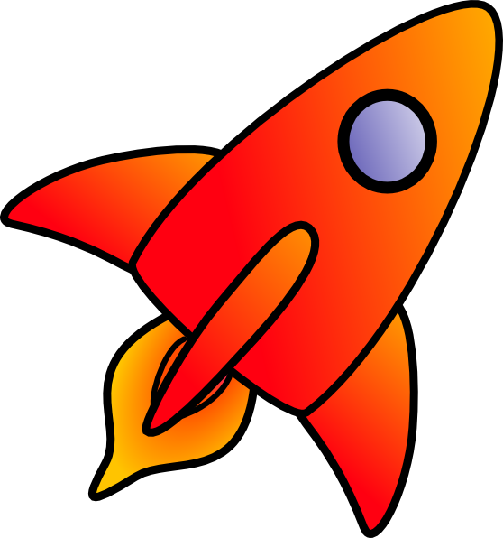 Cartoon Rocket Clip Art at Clker.com.