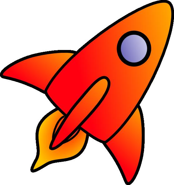 Cartoon Rocket Clip Art at Clker.com.