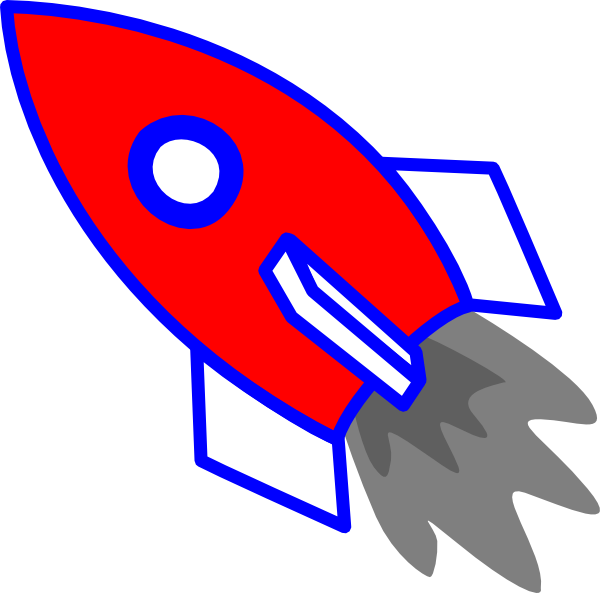Rocket Clip Art at Clker.com.