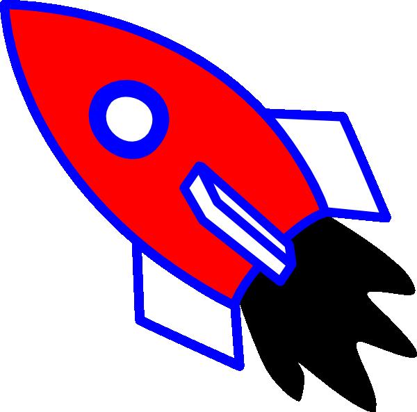 Rocket Clip Art at Clker.com.