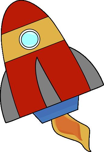 Red Rocket Clip Art.