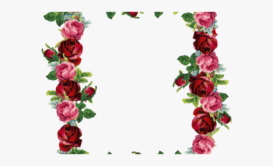 Blue Rose Clipart Red Rose Outline.