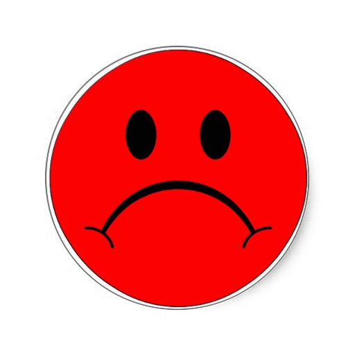 Sad Face Clipart.