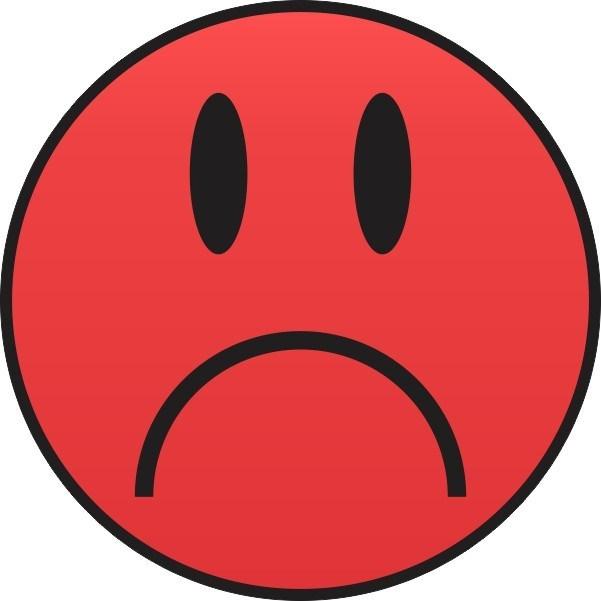 Red Sad Face & Free Red Sad Face.png Transparent Images.