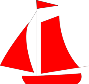 Red Sail Boat Clip Art at Clker.com.