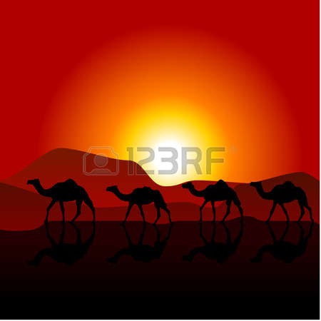 Sand dune clipart silhouette.