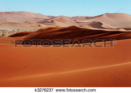 Picture of Red sand dunes k3276237.