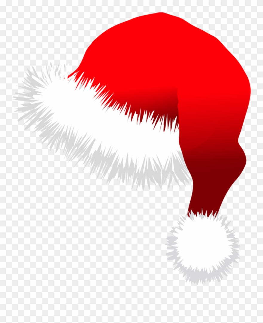 Transparent Santa Hat Clipart.