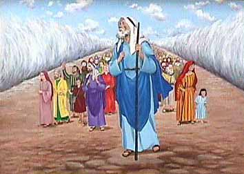 Moses Red Sea Clipart.