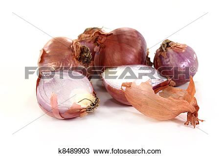 Stock Photo of shallots k8489903.
