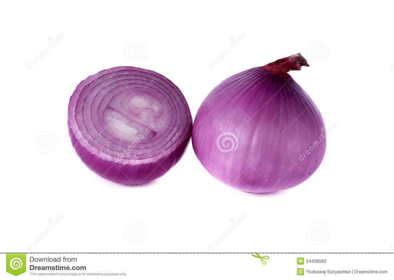 Peeled Shallots Royalty Free Stock Photography.