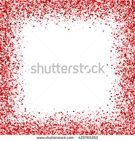 Confetti Border Stock Photos, Royalty.