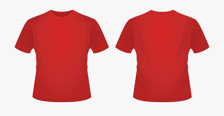 Red Shirt Clipart.