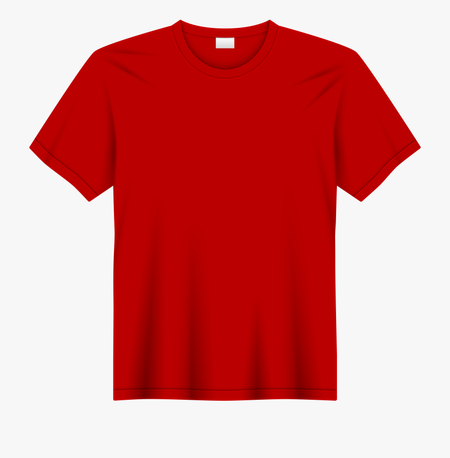 Red T Shirt Png Clip Art #97859.