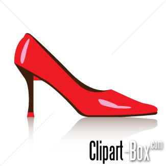 Red Shoes Clipart.