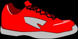 Red shoe clip art at clker vector clip art.