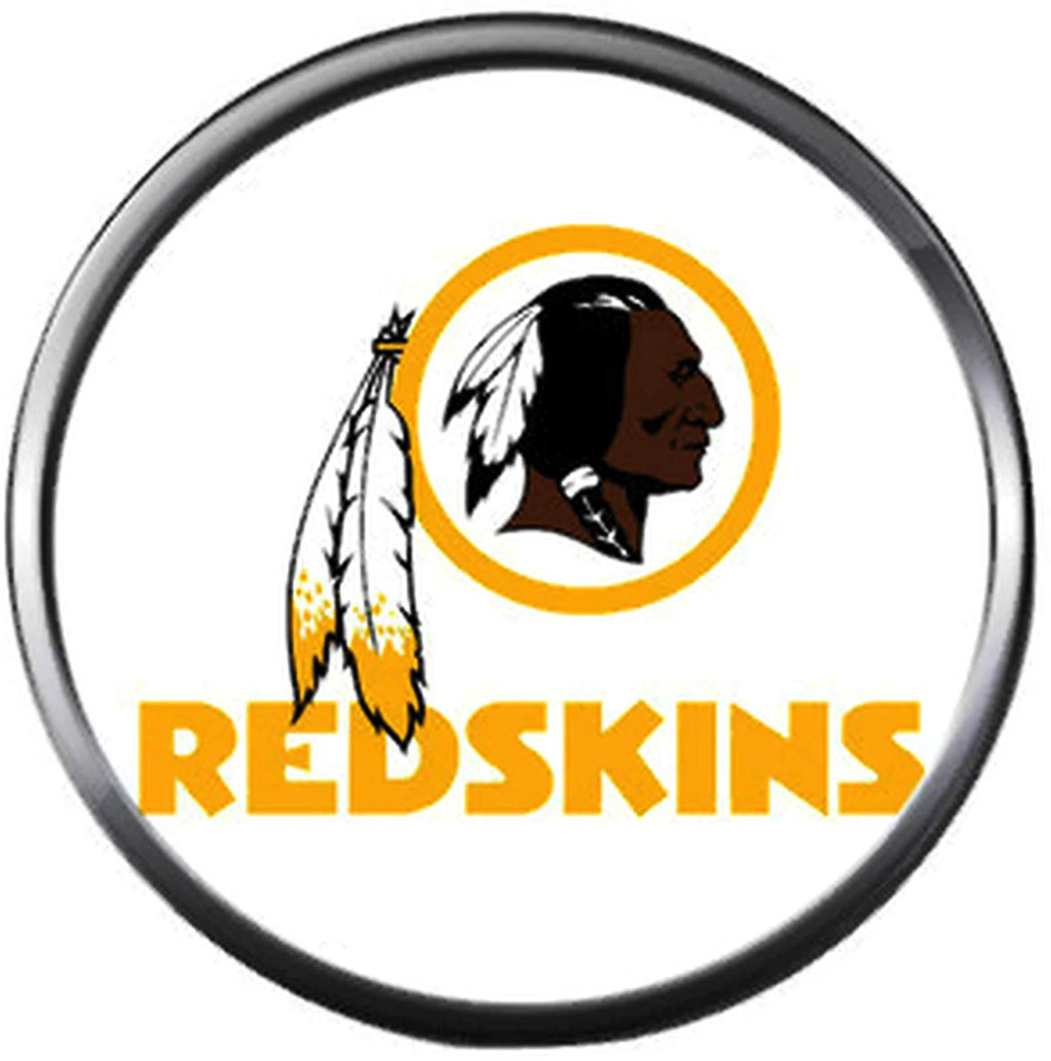 Amazon.com: NFL Washington Redskins Logo On White Skins Team.