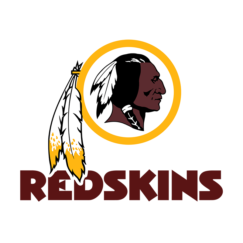 Washington Redskins Logos History.
