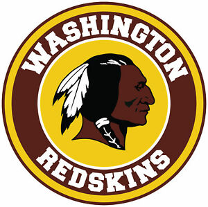 Details about Washington Redskins Circle Logo Vinyl Decal / Sticker 10  sizes!!.
