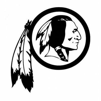 Washington Redskins Logo Car Window Truck Laptop Die Cut Vinyl Decal  Sticker.