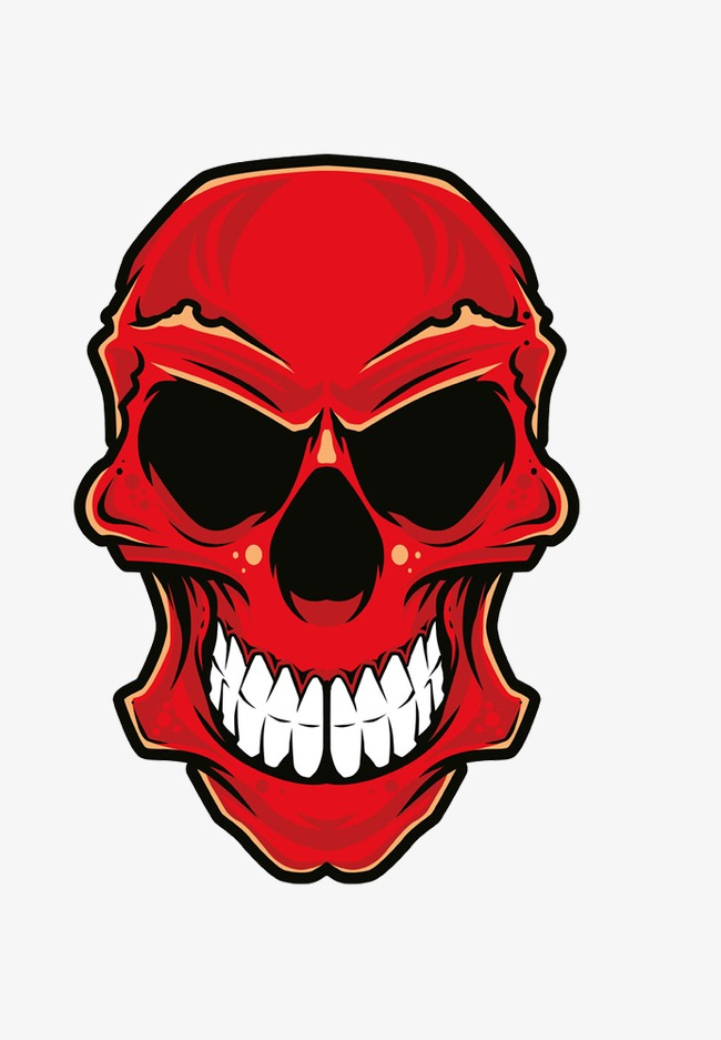 Red skull clipart 2 » Clipart Station.