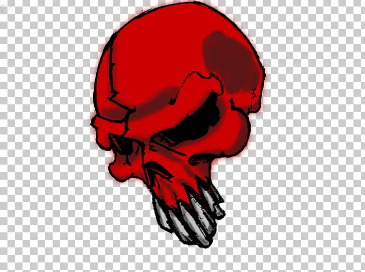 Red Skull Bone PNG, Clipart, Art, Bone, Clip Art, Desktop.