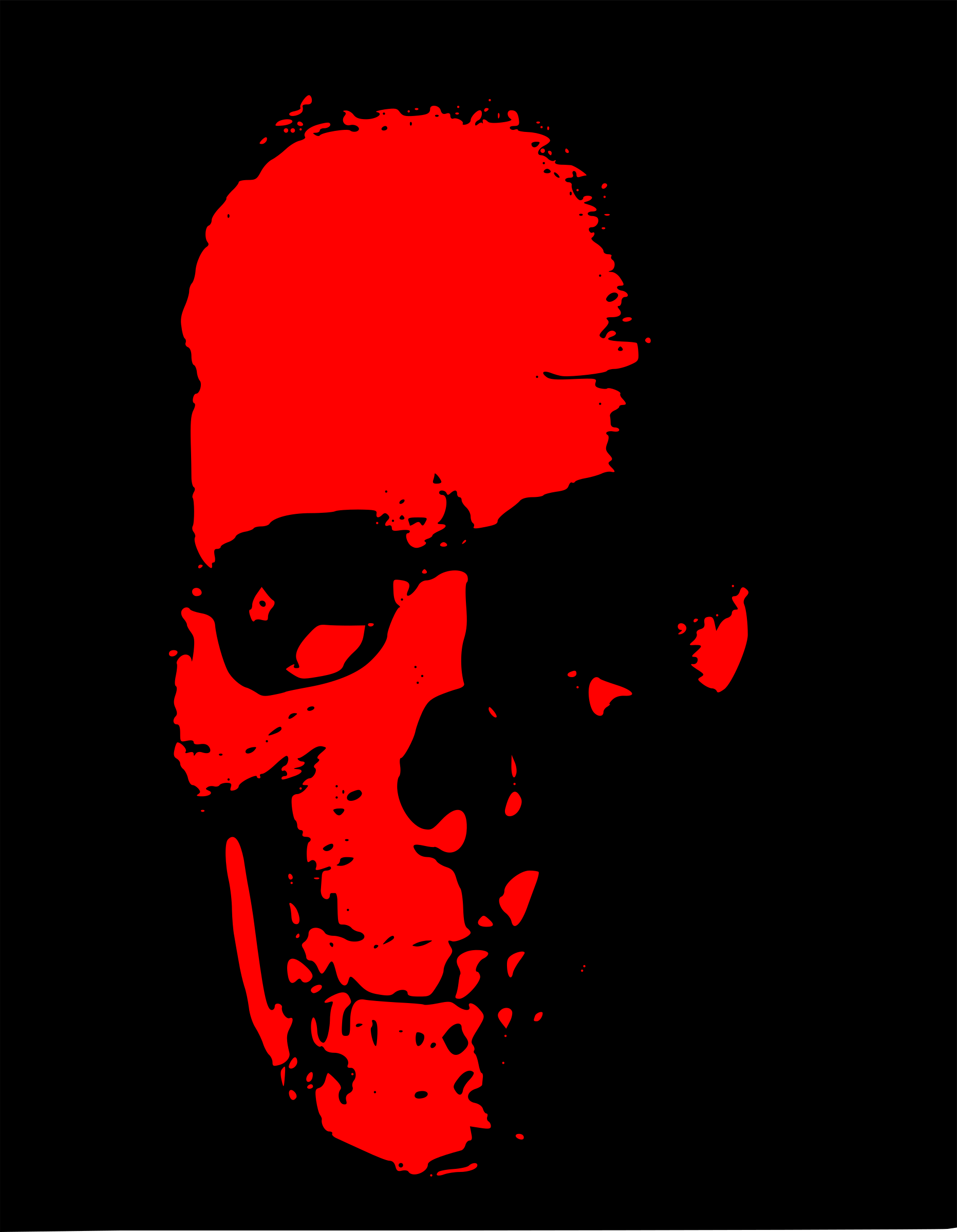 Red skull clipart 3 » Clipart Station.