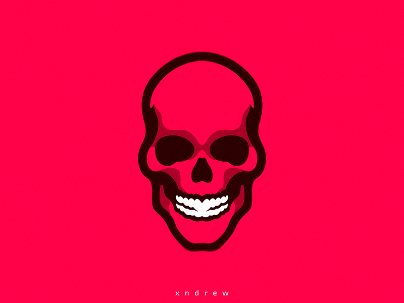 Red Skull by Xndrew on Dribbble.