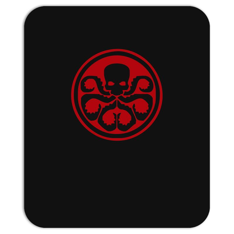 Red Skull Logo Avengers Marvel Comics Gift Mousepad. By Artistshot.