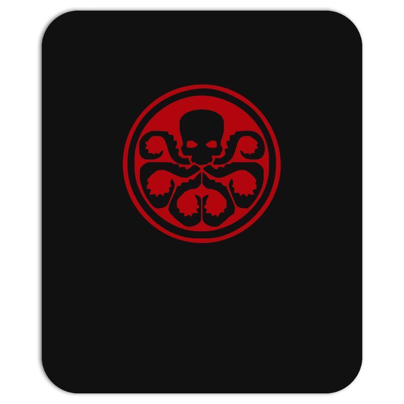Red Skull Logo Avengers Marvel Comics Gift Mousepad. By Artistshot.