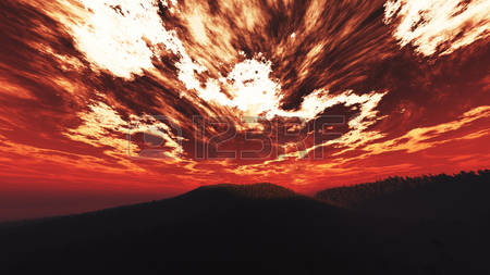 9,968 Red Sunrise Stock Illustrations, Cliparts And Royalty Free.