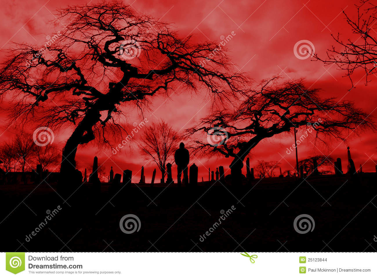 Red sky clipart.