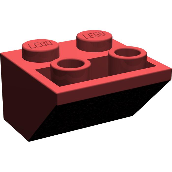LEGO Dark Red Slope 45° 2 x 2 Inverted (3660).