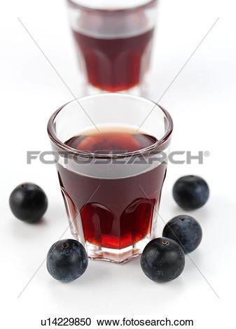 Stock Photography of Sloe Gin u14229850.