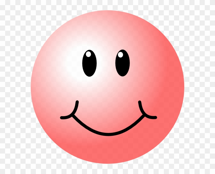 Pink Smiley Face Clip Art At Clker.