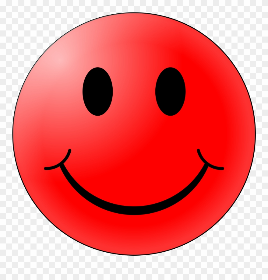 Red Smiley Face 6, Buy Clip Art.